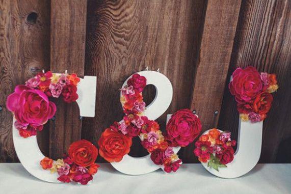 letras para decorar bodas
