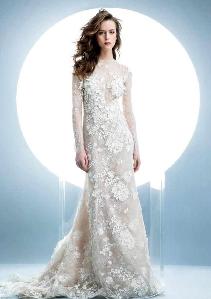 vestidos de novia invernales