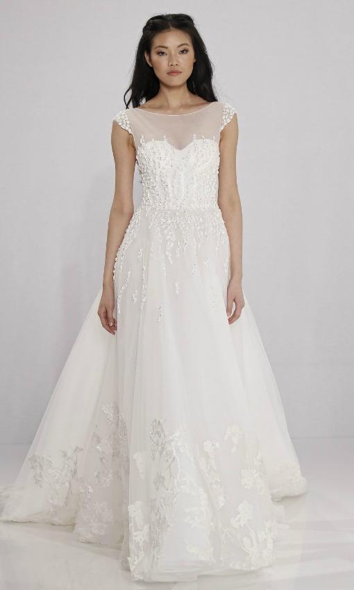 Vestidos de novia súper sencillos