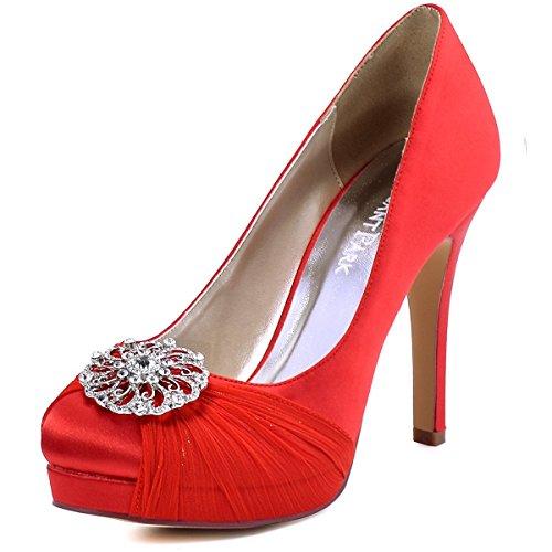 bodas de rojo, zapatos rojos