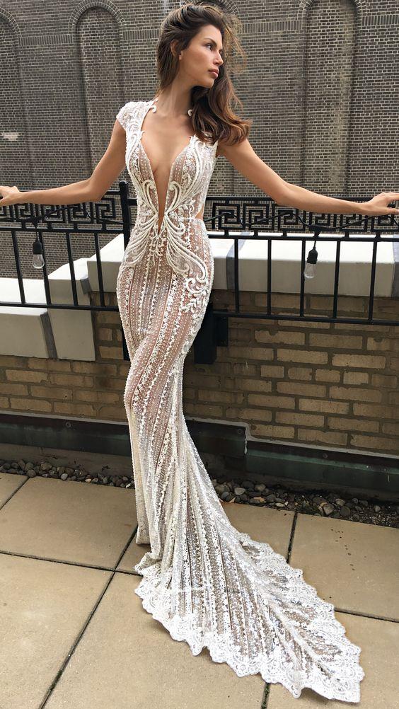 vestidos de novia sexys