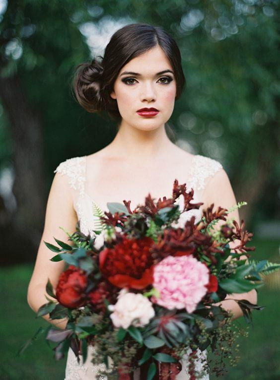maquillaje de otoño para novias