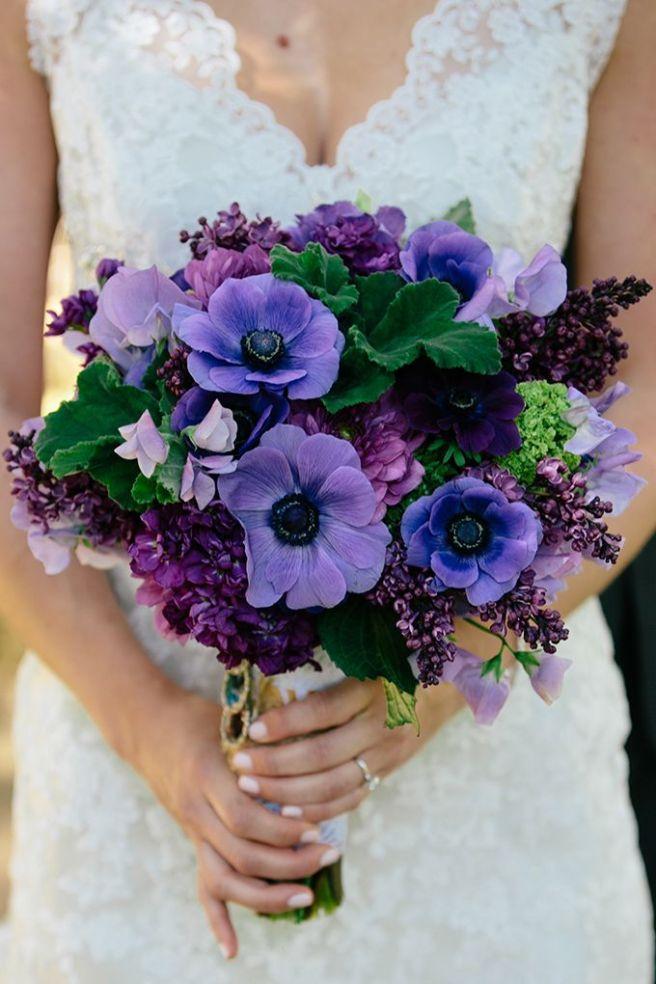 flores azules para el ramo