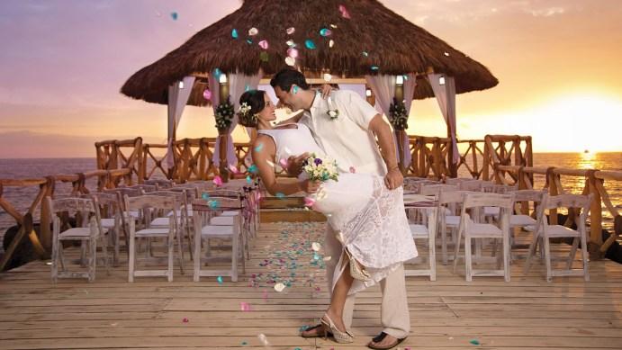 bodas en la playa