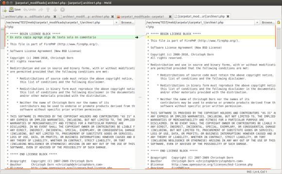 [carpeta1_modificado] archivo1.php : [carpeta1] archivo1.php - Meld_113