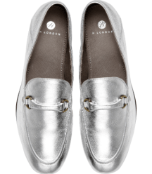 Hudson Ariana loafer silver