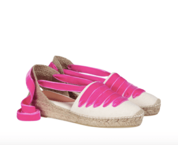 Penelope Chilvers lace up espadrilles