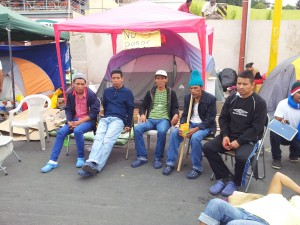 5 of the Tolupan indigenous now on hunger strike for 8 days