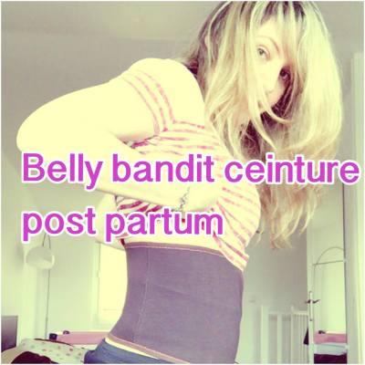 belly bandit ceinture gaine