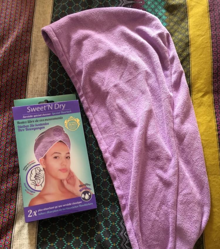 avis serviette micro fibre qui sèche les cheveux sweet n dry