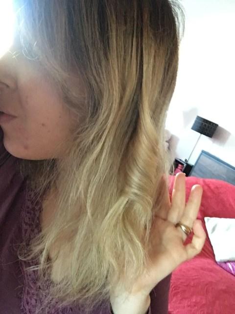 boucler cheveux avec le fer Solac Curl Expert