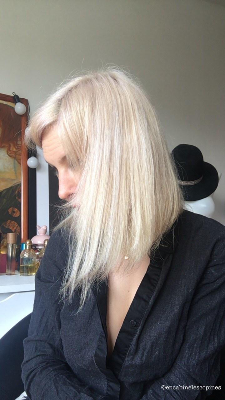 patine à la maison blond polaire P02 luocolor déjaunir blond