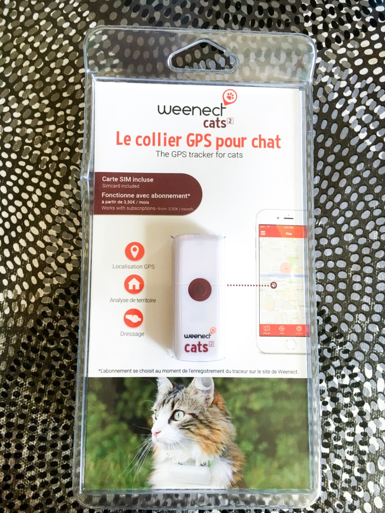balise gps pour chat weenect