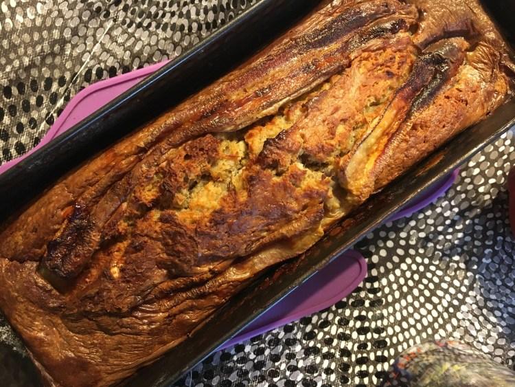 recette banana cake sans beurre facile