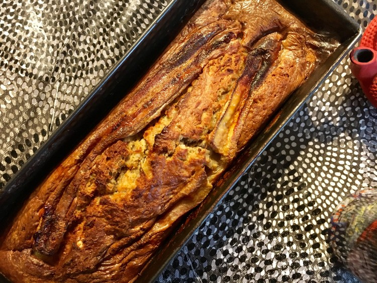recette gâteau banane recette banana cake sans beurre facile