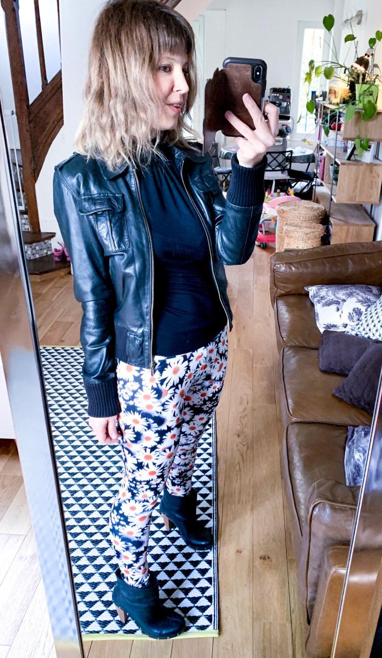 legging pâquerettes dresslily
