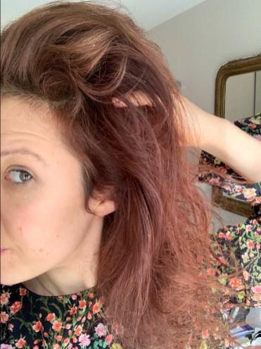 estomper éclaircir naturellement coloration cheveux