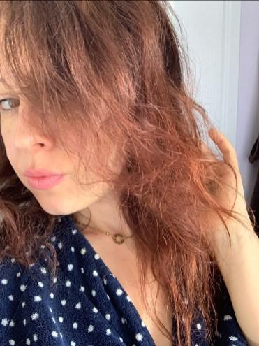 estomper éclaircir coloration cheveux naturellement