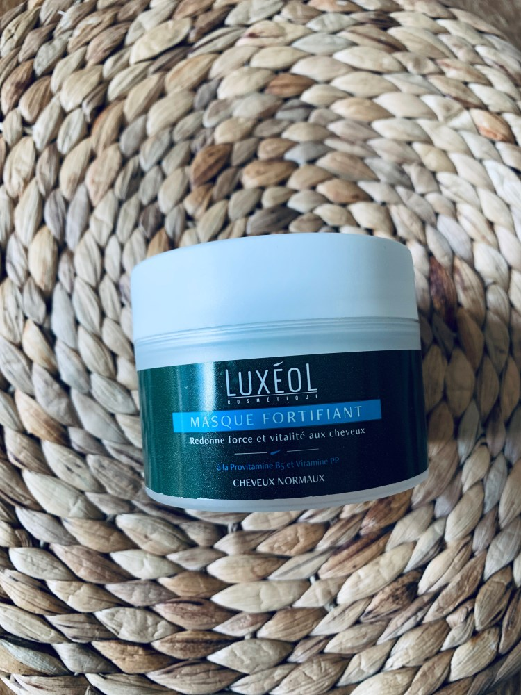 avis masque fortifiant luxeol cheveux normaux