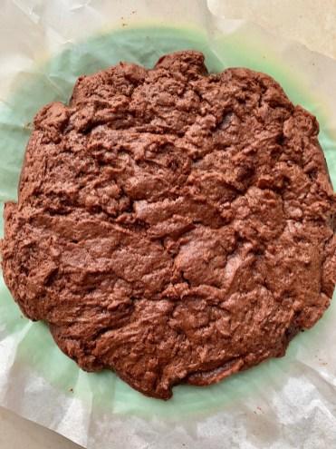 gâteau au chocolat sans oeuf avec des yaourts