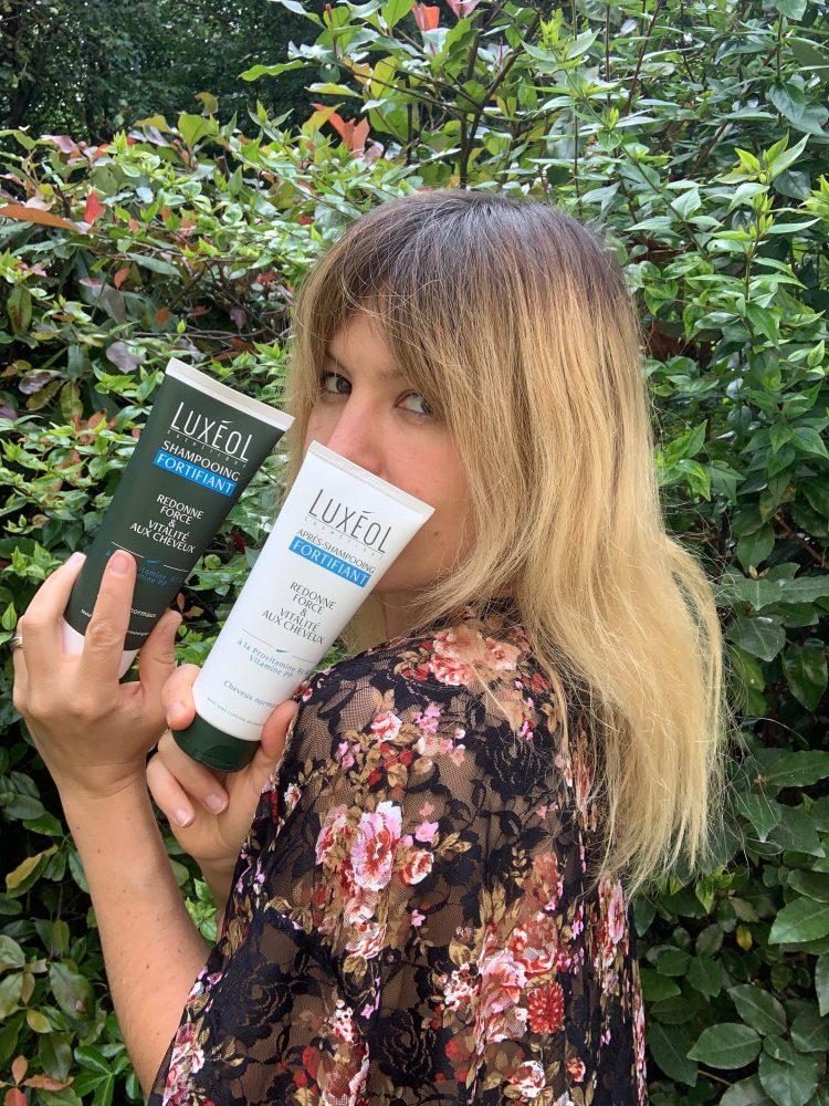 avis shampooing et aprés shampooing fortifiant Luxéol