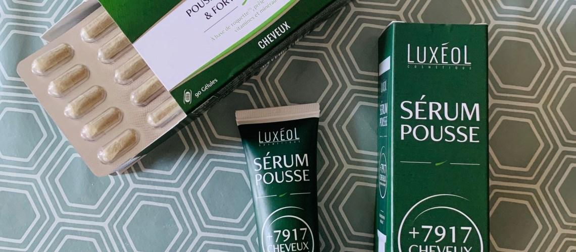 avis sérum pousse cheveux luxeol complément alimentaire cure 3 mois Luxeol