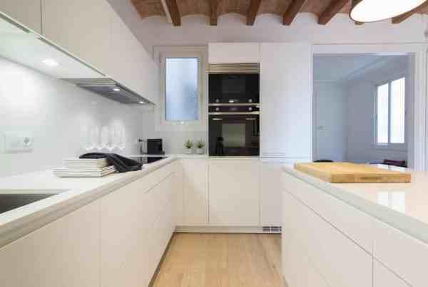 cocinas santos barcelona, encainteriros, reforma cocina barcelona