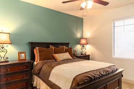 Bedrooms with Ceiling Fans