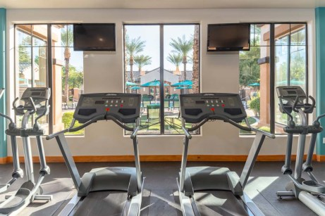 Fitness Center with Views