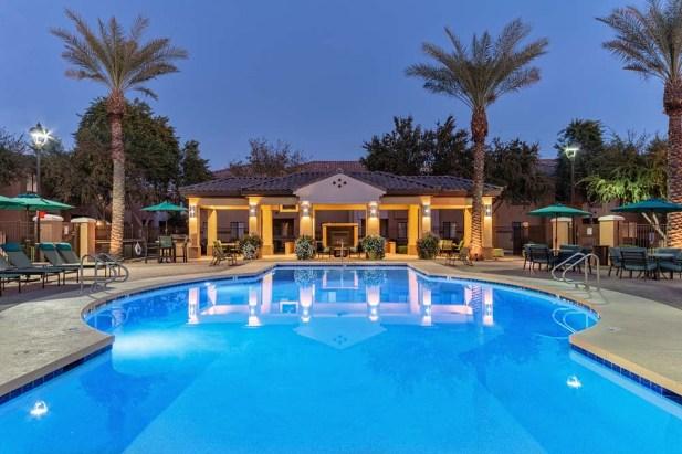 Refreshing Pool Night Shot 2