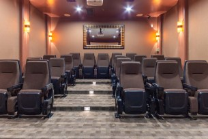 Stadium Style Movie Theater