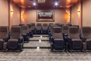 Stadium Style Movie Theater
