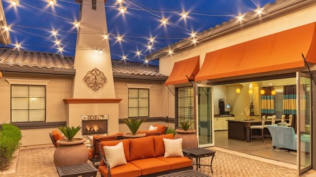 Clubhouse Courtyard