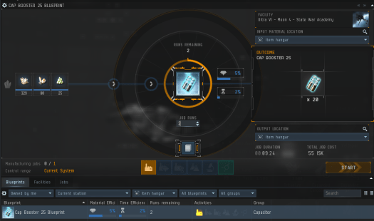 Manufacturing Cap Boosters