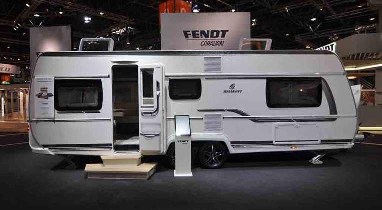 Caravanas de doble eje Fendt Diamand 10