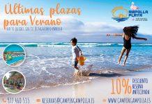 Camping Ampolla Playa Oferta ENCARAVANA