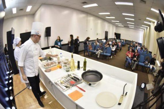 Aulas-show de gastronomia movimentaram o último dia do Encatho 2018