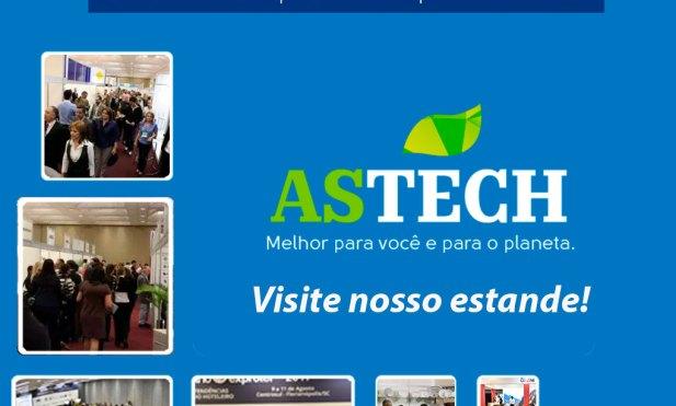 Astech: produtos sustentáveis e soluções inovadoras no Encatho 2018