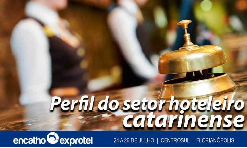 Fecomércio SC, em parceria com a ABIH-SC, apresenta o perfil hoteleiro catarinense