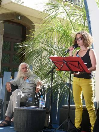 Avec l'excellent Antoine Simon (c) Micheline Simon