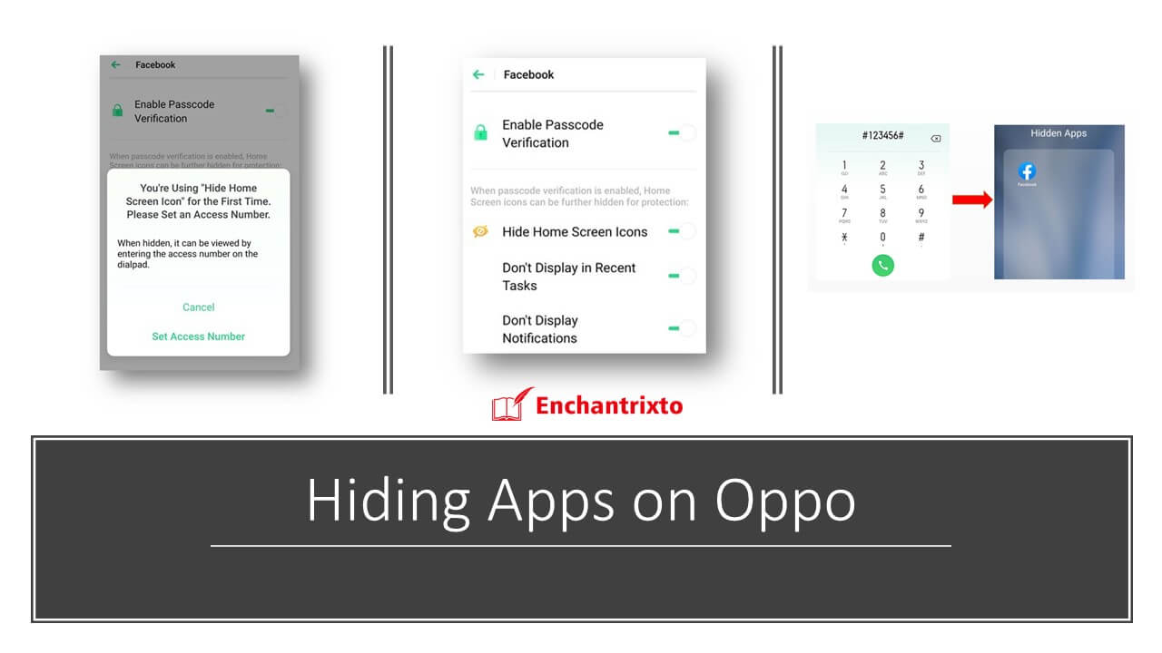 How to Hide Android Apps on Oppo?