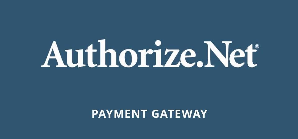 Authorize.net - Alterantive to Stripe