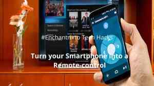 Turn Smartphone into a remote control
