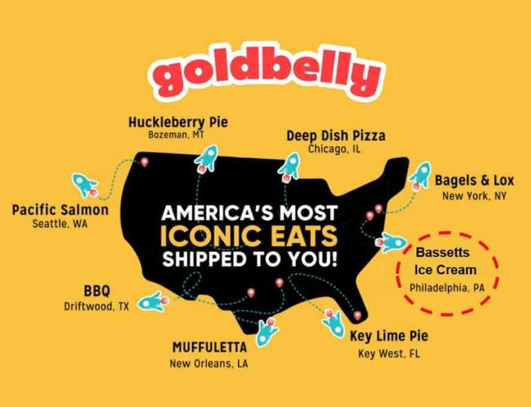 Goldbelly, the food delivery service in the  USA offers cooked food as well as food making ingrediants