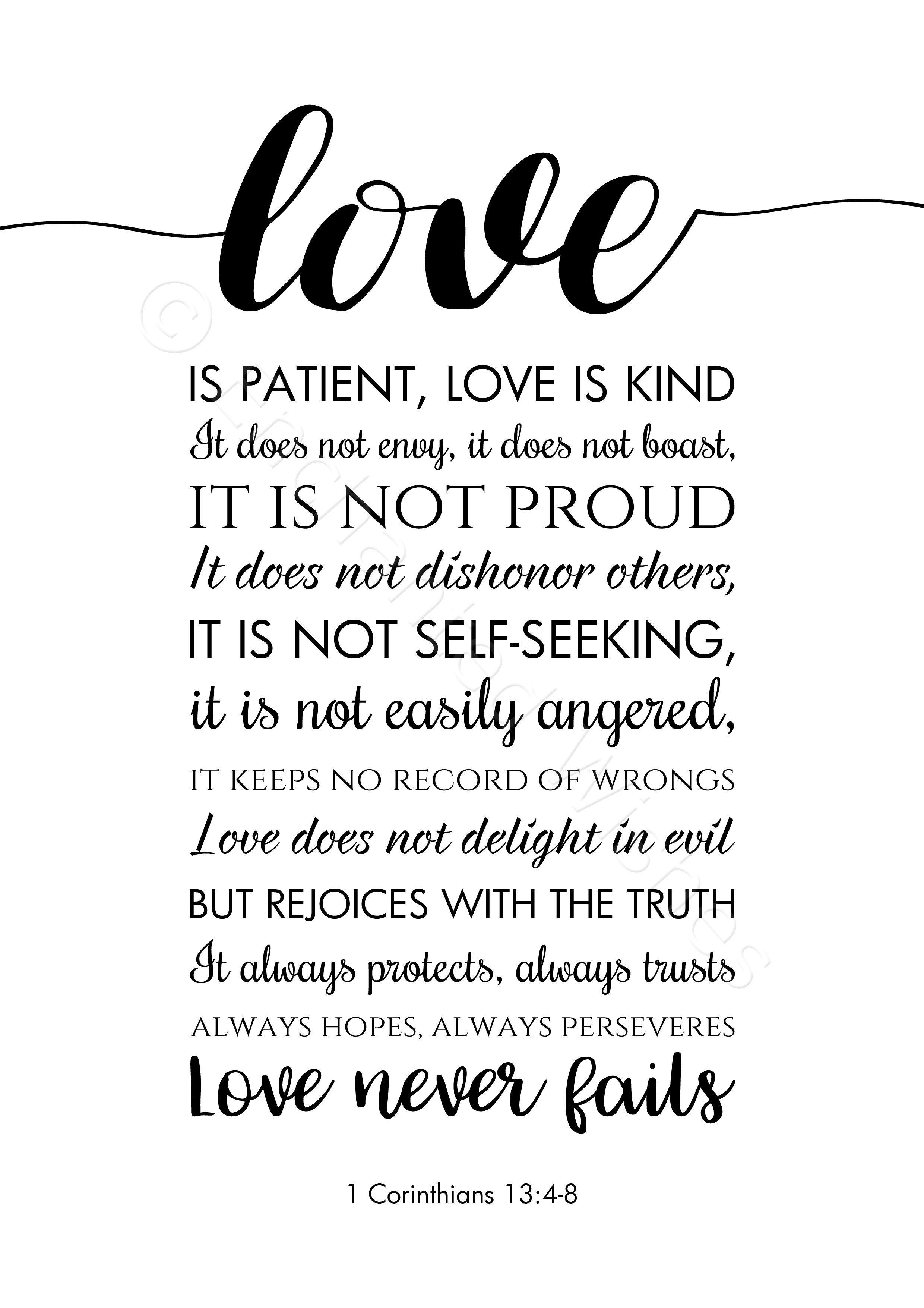 Love Is Kind Quote : quote, Quote, Patient, Retro, Future