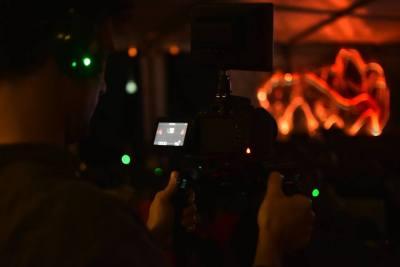 enchanted cinema halloween screening - video film marquee