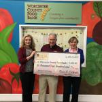 """Shop Small Give Big"" Promotion Results in Even Bigger Support for Community Food Bank."