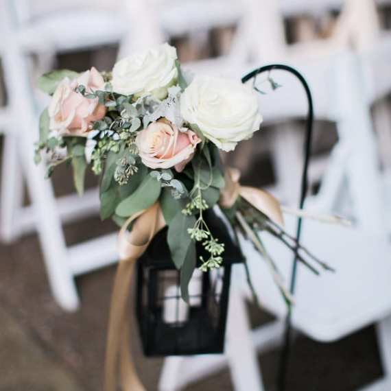 Enchanted Florist TN Luxury Floral Design - beautiful outdoor real wedding
