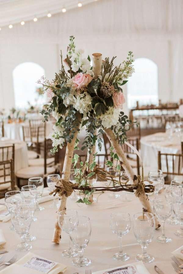 Enchanted Florist  Beautifully Blush  Wedding at The