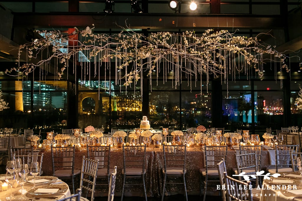 Enchanted Florist   New Year\'s Eve Rose Gold Glamour   Wedding at ...